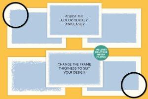 创意海报印刷效果AI笔刷 Poster Press – Screen-Print Creator插图11