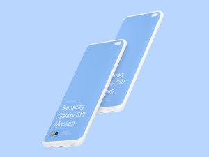 三星智能手机S10超级样机套装 Samsung Galaxy S10 Mockups插图23