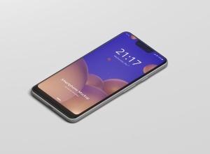谷歌智能手机Pixel 3 XL屏幕预览样机模板 Smart Phone Mockup Pixel 3 XL插图6