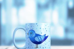经典图案马克杯样机v3 Mug Mock-up vol.3插图6