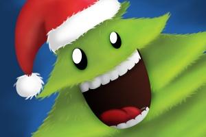 可爱设计风格圣诞树设计PSD分层模板 Christmas Tree插图2