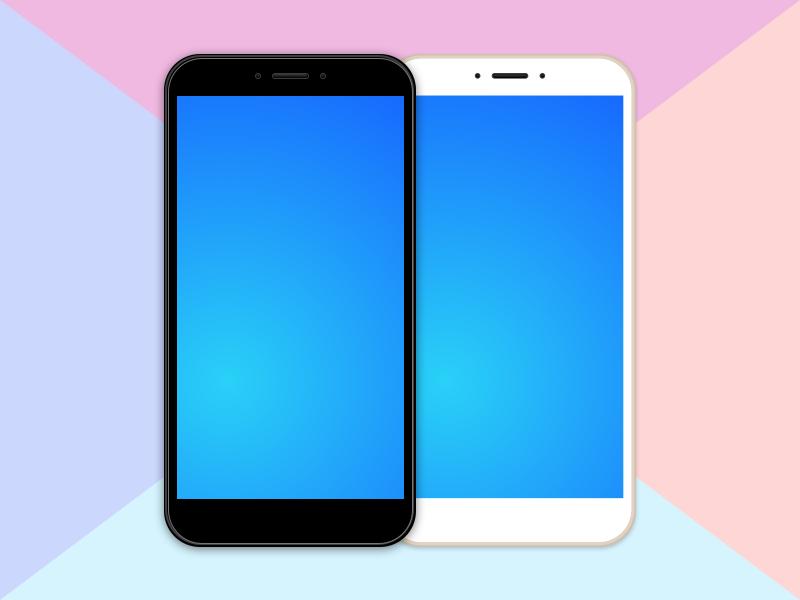 小米手机样机 Xiaomi Mockup Sketch Freebie插图