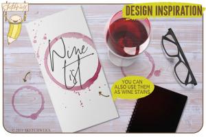 创意Procreate专用画笔素材-水彩戒指和滴水印章插图5