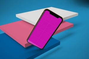 iPhone XS智能手机UI设计预览样机V2 iPhone XS V.2插图12