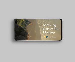三星智能手机S10超级样机套装 Samsung Galaxy S10 Mockups插图9