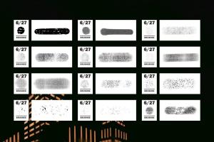 漫画和半色调Procreate笔刷 Comics & Halftone: Procreate Brushes插图4