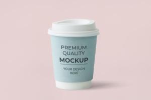 热饮纸杯样机模板 Cup Design Mockup插图3