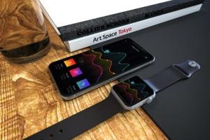 Apple智能手表&iPhone Xs手机样机模板 Apple Watch & iPhone XS插图2