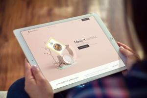 手持iPad Pro平板电脑样机模板 iPad Pro Mockups v5插图4