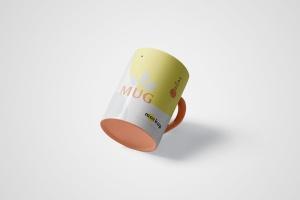 马克杯图案设计多视觉预览样机模板 5 Mug Mockups插图6