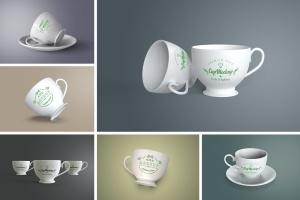 陶瓷茶杯咖啡杯外观设计样机模板v2 Cup Mockup 2.0插图1