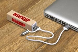 移动电源外观设计预览样机模板 PowerBank_Mockup插图3