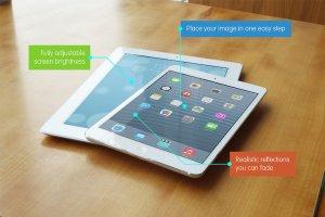 逼真 iPad 平板电脑样机 Realistic iPad & iPad Mini Mockups插图2