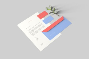 创意办公用品套件品牌VI设计预览样机 Branding Stationery Mockups插图4