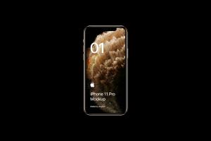 全新iPhone 11 Pro手机屏幕界面演示样机模板[PSD格式]插图5