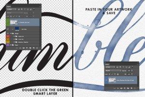 即时水墨效果字体插画图层样式 Inkwell – Instant Ink Effects插图2