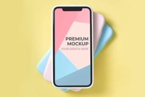 移动端APP界面设计展示样机模板 Mobile Design Mockup插图4