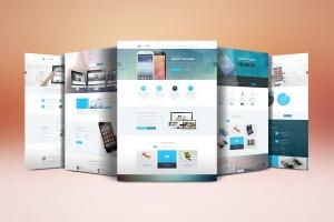 网站设计案例预览样机模板 Website Display Mockup插图6