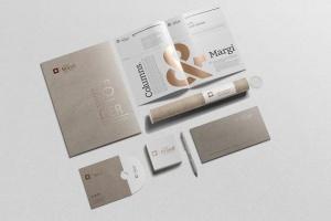 企业品牌VI办公用品样机设计模板V3 Branding-Stationery Mockups V3插图12