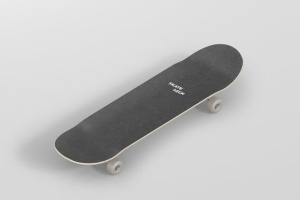 极限运动滑板图案设计样机 Skateboard Mockup插图7