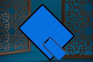 阿拉伯文APP应用iPhone XS和iPad Pro样机模板 Arabic iPhone XS & iPad Pro插图12