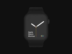 苹果第四代智能手表超级样机套装 Apple Watch 4 Mockups插图11