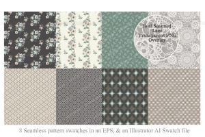 复古怪诞时尚设计矢量素材包 Vintage Eccentric Designers Toolkit插图3