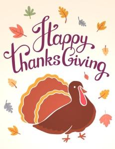 感恩节庆祝火鸡美食矢量设计素材 Happy Thanksgiving turkey插图2