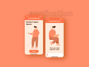 一流设计素材网下午茶:自由职业者插图集[AI]插图5