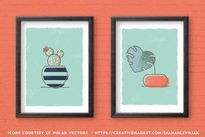 创意海报印刷效果AI笔刷 Poster Press – Screen-Print Creator插图5
