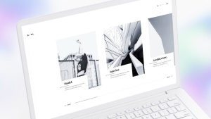 白色超极本笔记本电脑样机模板 White Laptop Mockup插图10