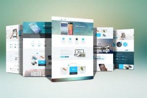 网站设计案例预览样机模板 Website Display Mockup插图3