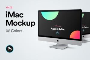 2019款iMac Pro一体机电脑样机模板v3 iMac 2019 Mockup Vol 03插图1