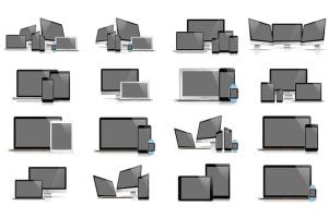 62款响应式网页设计预览样机套装 62 Responsive Mockups插图4