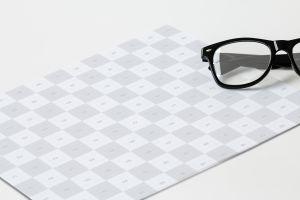 简约大方企业信笺信头设计样机模板01 Letterhead Mockup 01插图3