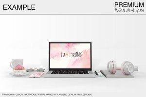 苹果MacBook Pro笔记本电脑样机展示模型mockups插图11