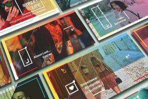 新媒体社交媒体传播设计物料效果图样机模板01 Landscape Perspective Mockup 01插图4