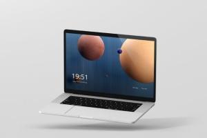 高分辨率笔记本电脑样机 Laptop Screen Mockup插图7