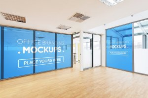 20多个办公室品牌样机展示模型mockups插图8