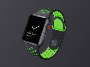 超级主流桌面&移动设备样机系列:Apple Watch 智能手表样机 [兼容PS,Sketch;共2.92GB]插图1
