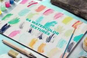 抽象艺术水彩设计套装 Watercolor Design Bundle插图(5)