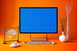 办公室场景微软一体机Surface样机模板合集 Surface in Studio插图11