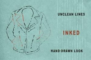 墨水复古插图创作必备AI笔刷 Ink Age Brushes for Adobe Illustrator插图(3)