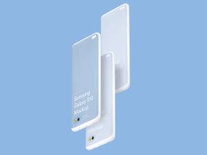 三星智能手机S10超级样机套装 Samsung Galaxy S10 Mockups插图3