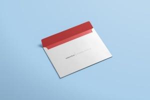 公司/企业信封设计样机模板 Envelope C5 / C6 Mock-up插图2