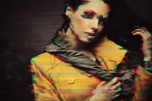 数字故障扭曲毛刺抽象照片特效PS图层样式v3 Glitch Photoshop PSD Template Ver. 3插图4
