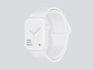苹果第四代智能手表超级样机套装 Apple Watch 4 Mockups插图23