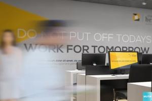 3D立体logo标志企业文化办公室设计VI样机展示模型mockups插图3