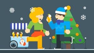 圣诞节&新年庆祝主题矢量插画素材 Christmas & New Year Illustrations插图2