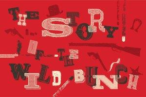 复古西部牛仔电影风格AI图层样式 Western Typography Saloon插图2